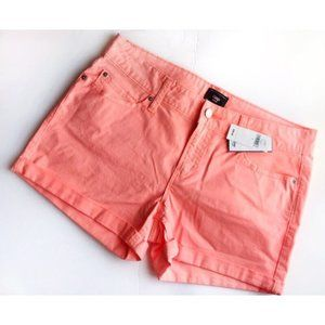 Gap • NWT Sunkissed Neon Orange Shorts